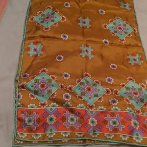 Burmel silk scarf